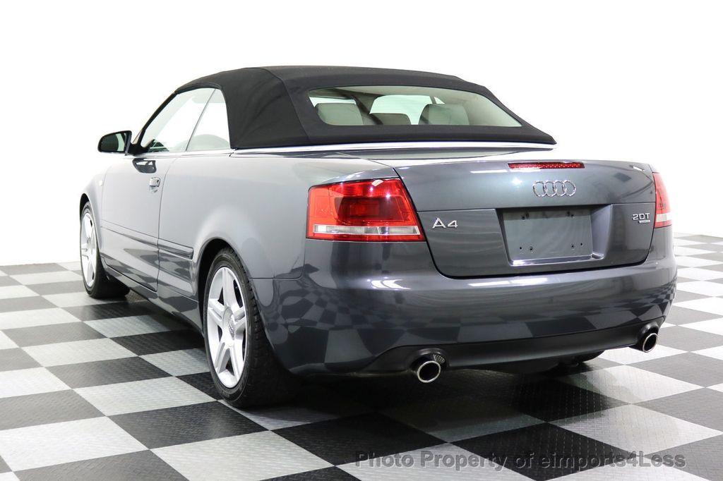 2008 Audi A4 CERTIFIED A4 2.0T Quattro AWD BOSE XENONS SIRIUS - 17823713 - 2