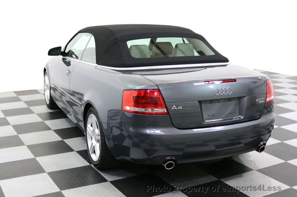 2008 Audi A4 CERTIFIED A4 2.0T Quattro AWD BOSE XENONS SIRIUS - 17823713 - 39