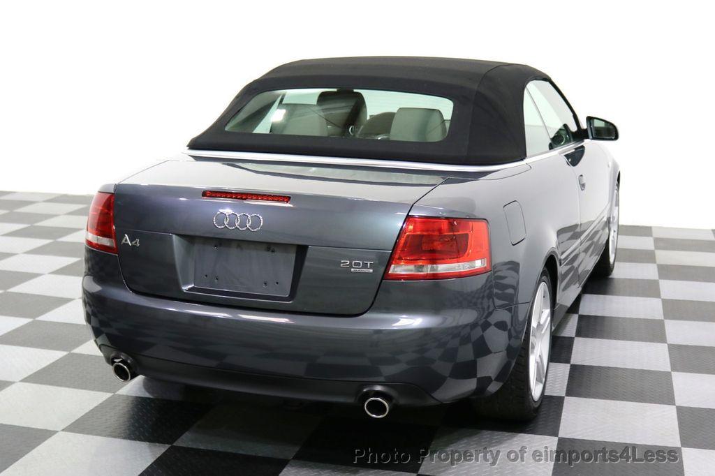 2008 Audi A4 CERTIFIED A4 2.0T Quattro AWD BOSE XENONS SIRIUS - 17823713 - 40