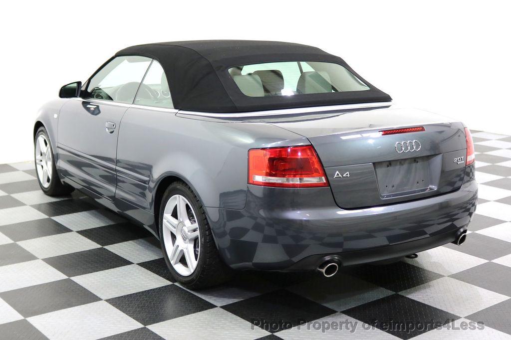 2008 Audi A4 CERTIFIED A4 2.0T Quattro AWD BOSE XENONS SIRIUS - 17823713 - 46