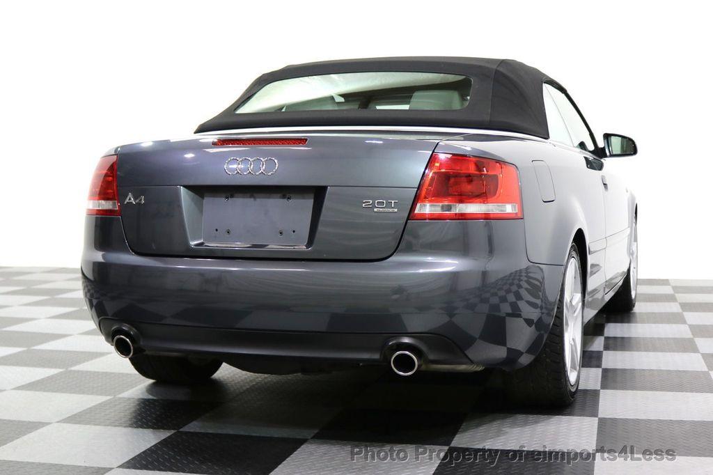 2008 Audi A4 CERTIFIED A4 2.0T Quattro AWD BOSE XENONS SIRIUS - 17823713 - 47