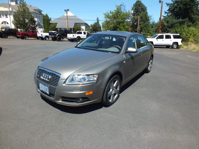 2008 Used Audi A6 SUPER CLEAN! LOADED, LEATHER  at Forest Grove Auto Broker  Serving Lafayette, OR, IID 19203558