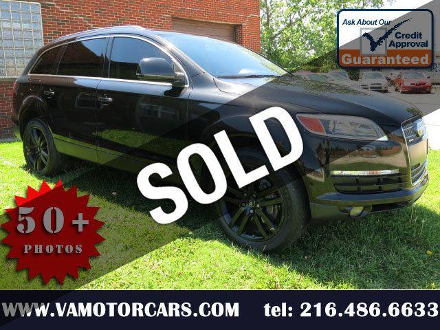 2008 Used Audi Q7 quattro 4dr 3 6L Premium at VA Motorcars LLC  Serving  Euclid, OH, IID 19046165