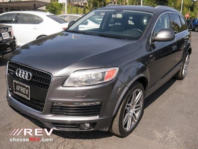 Used Audi Q Quattro Dr L Premium At REV Motors Serving - Audi q7 used