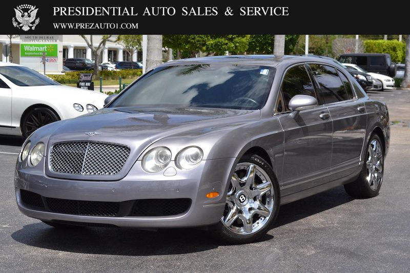 2008 Bentley Continental Flying Spur 4dr Sedan - 14137513 - 0