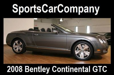 2008 Bentley Continental GTC  - Click to see full-size photo viewer