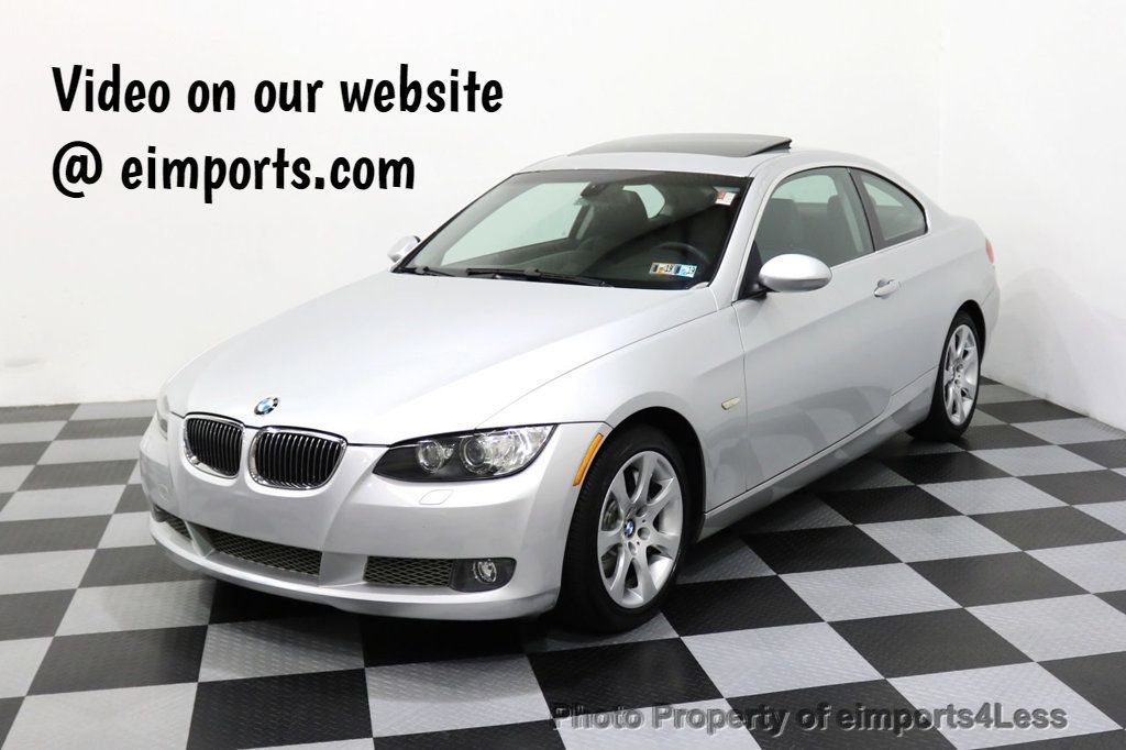 2008 BMW 3 Series CERTIFIED 335Xi AWD 6 SPEED MANUAL TRANS NAVIGATION - 17958310 - 0