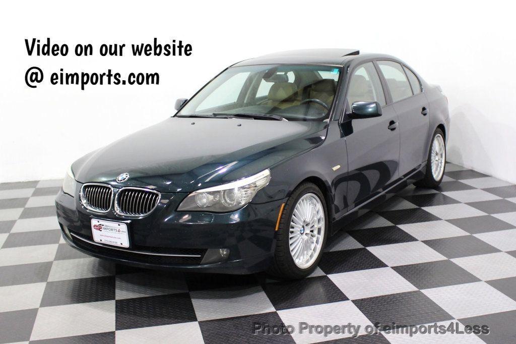 2008 BMW 5 Series 528i 6 Speed SPORT/PREMIUM/COLD NAVIGATION - 18257417 - 0
