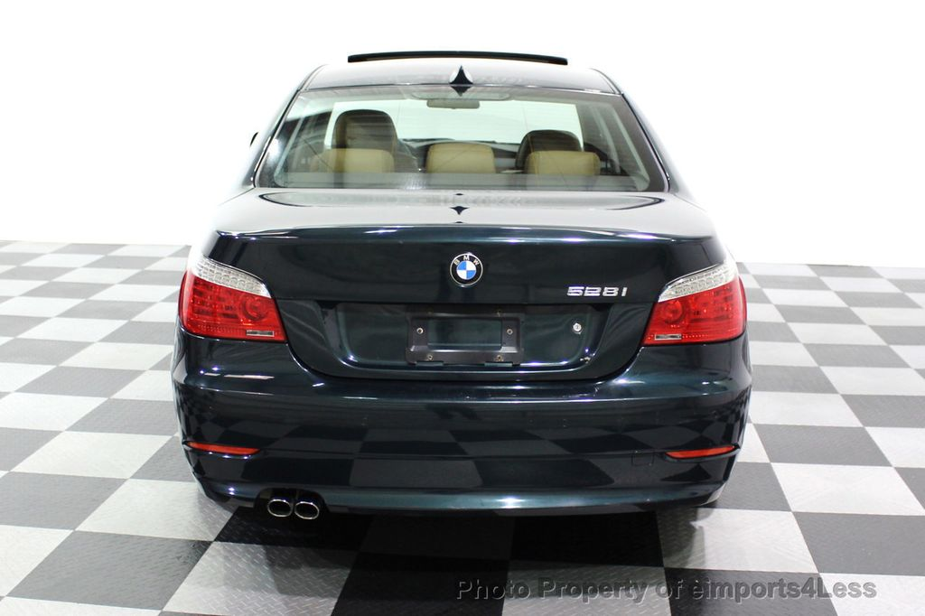 2008 BMW 5 Series 528i 6 Speed SPORT/PREMIUM/COLD NAVIGATION - 18257417 - 17