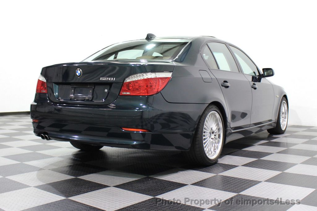 2008 BMW 5 Series 528i 6 Speed SPORT/PREMIUM/COLD NAVIGATION - 18257417 - 18