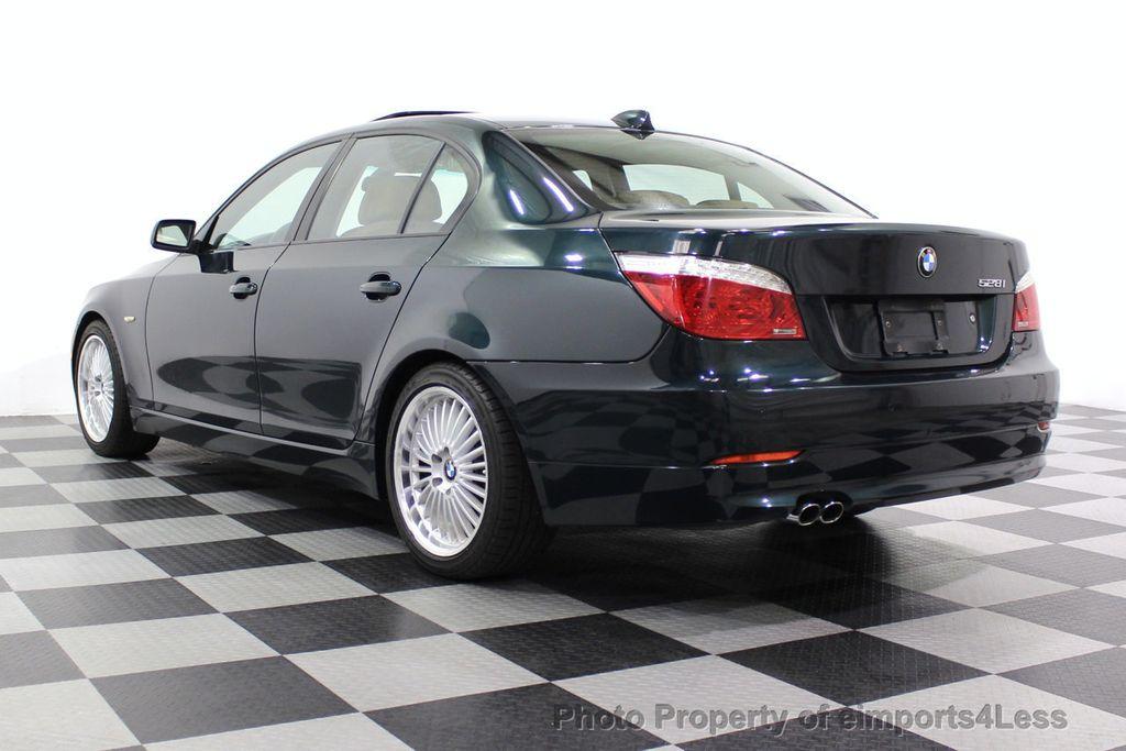 2008 BMW 5 Series 528i 6 Speed SPORT/PREMIUM/COLD NAVIGATION - 18257417 - 2