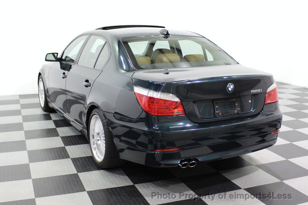 2008 BMW 5 Series 528i 6 Speed SPORT/PREMIUM/COLD NAVIGATION - 18257417 - 30
