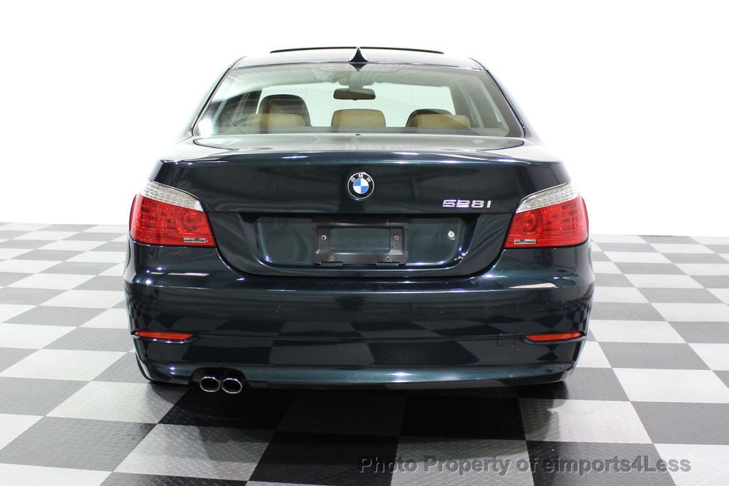2008 BMW 5 Series 528i 6 Speed SPORT/PREMIUM/COLD NAVIGATION - 18257417 - 31