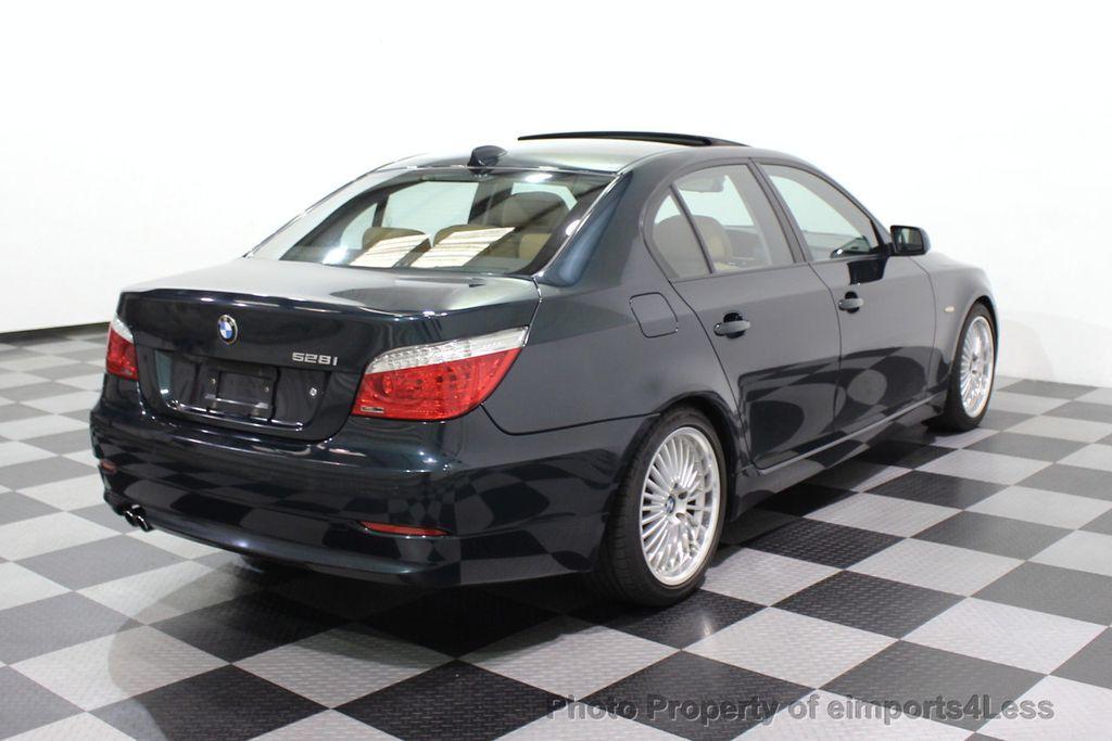 2008 BMW 5 Series 528i 6 Speed SPORT/PREMIUM/COLD NAVIGATION - 18257417 - 32