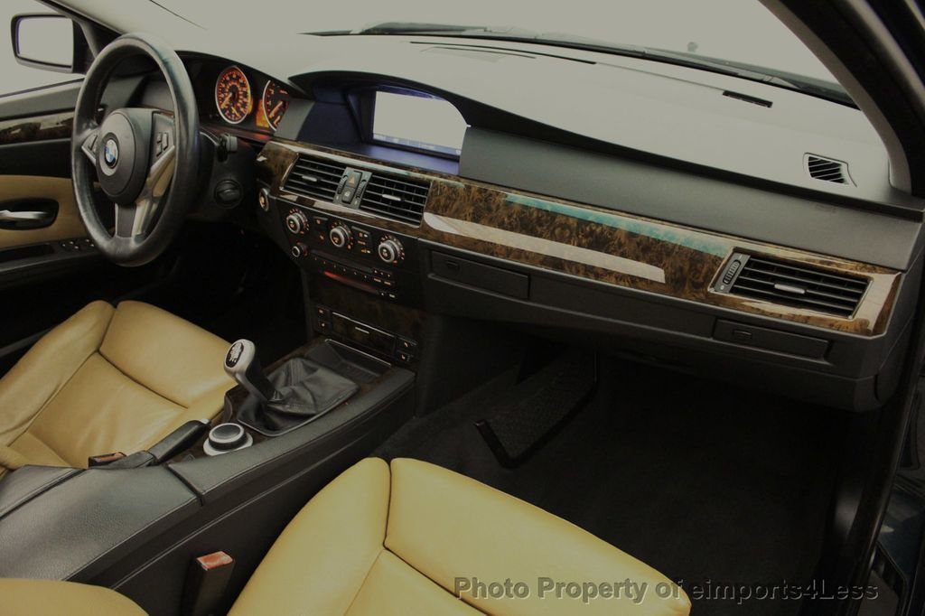 2008 BMW 5 Series 528i 6 Speed SPORT/PREMIUM/COLD NAVIGATION - 18257417 - 35