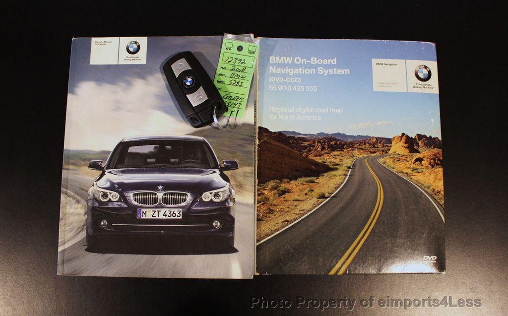 2008 BMW 5 Series 528i 6 Speed SPORT/PREMIUM/COLD NAVIGATION - 18257417 - 40