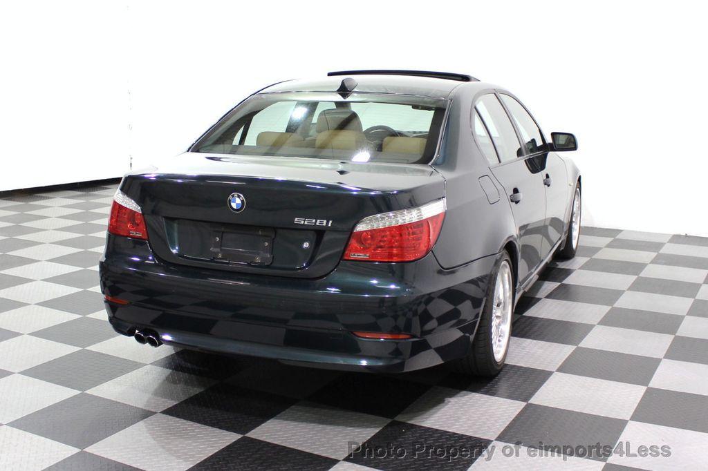 2008 BMW 5 Series 528i 6 Speed SPORT/PREMIUM/COLD NAVIGATION - 18257417 - 48