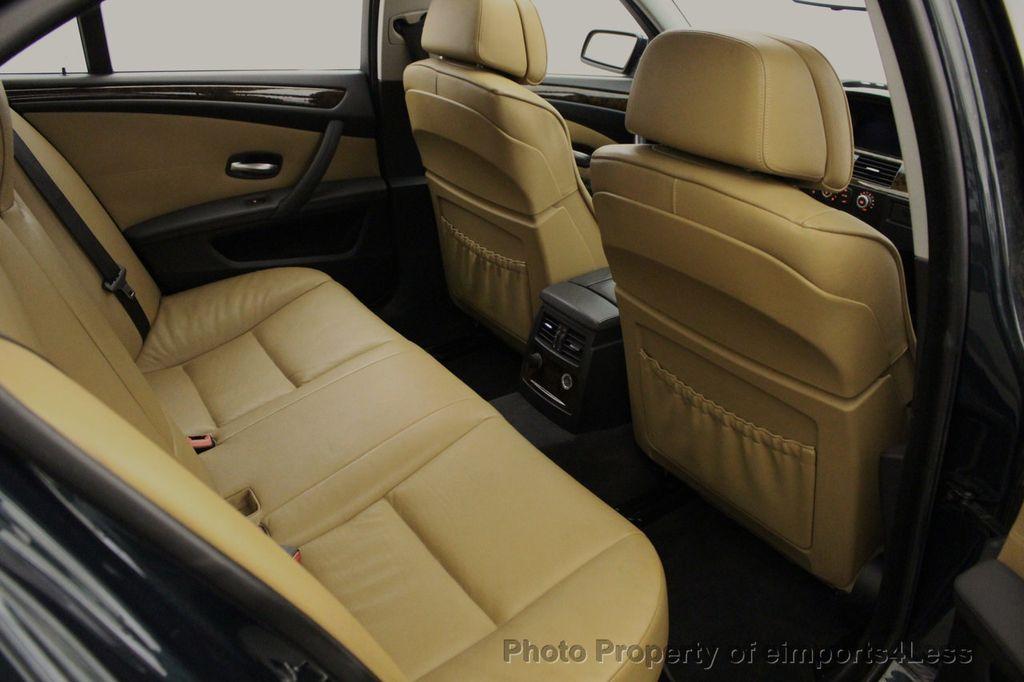 2008 BMW 5 Series 528i 6 Speed SPORT/PREMIUM/COLD NAVIGATION - 18257417 - 52