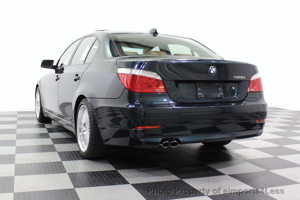 2008 BMW 5 Series 528i 6 Speed SPORT/PREMIUM/COLD NAVIGATION - 18257417 - 54