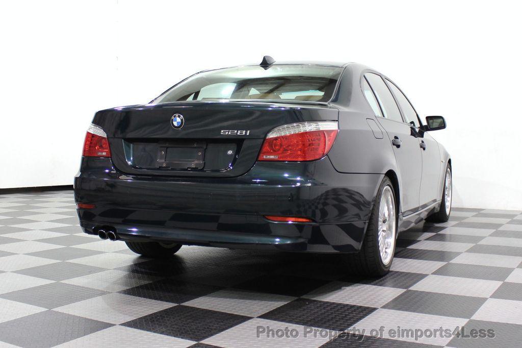2008 BMW 5 Series 528i 6 Speed SPORT/PREMIUM/COLD NAVIGATION - 18257417 - 55