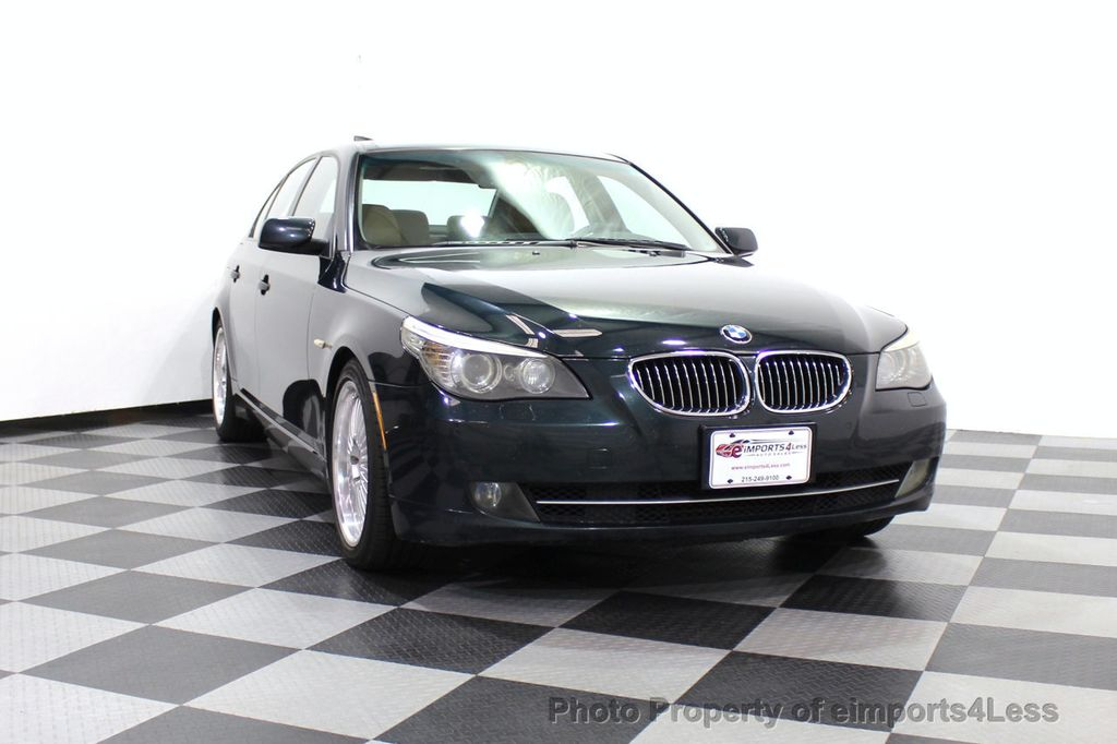 2008 BMW 5 Series 528i 6 Speed SPORT/PREMIUM/COLD NAVIGATION - 18257417 - 56
