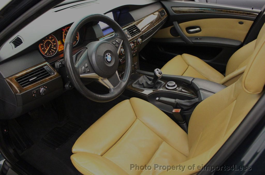 2008 BMW 5 Series 528i 6 Speed SPORT/PREMIUM/COLD NAVIGATION - 18257417 - 5