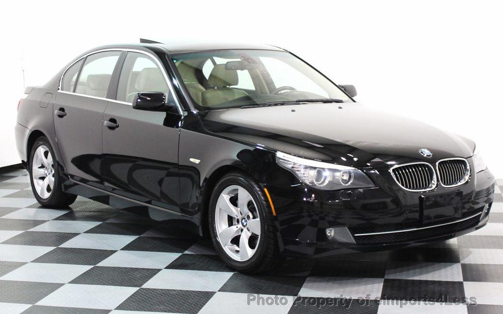 2008 Used BMW 5 Series CERTIFIED 528i PREMIUM PACKAGE SEDAN at ...