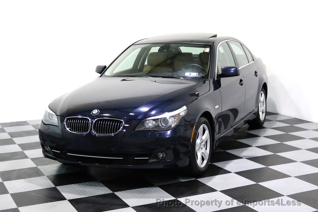 2008 BMW 5 Series CERTIFIED 535Xi AWD Active Cruise HUD NAVI - 17234274 - 0