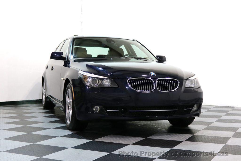 2008 BMW 5 Series CERTIFIED 535Xi AWD Active Cruise HUD NAVI - 17234274 - 12