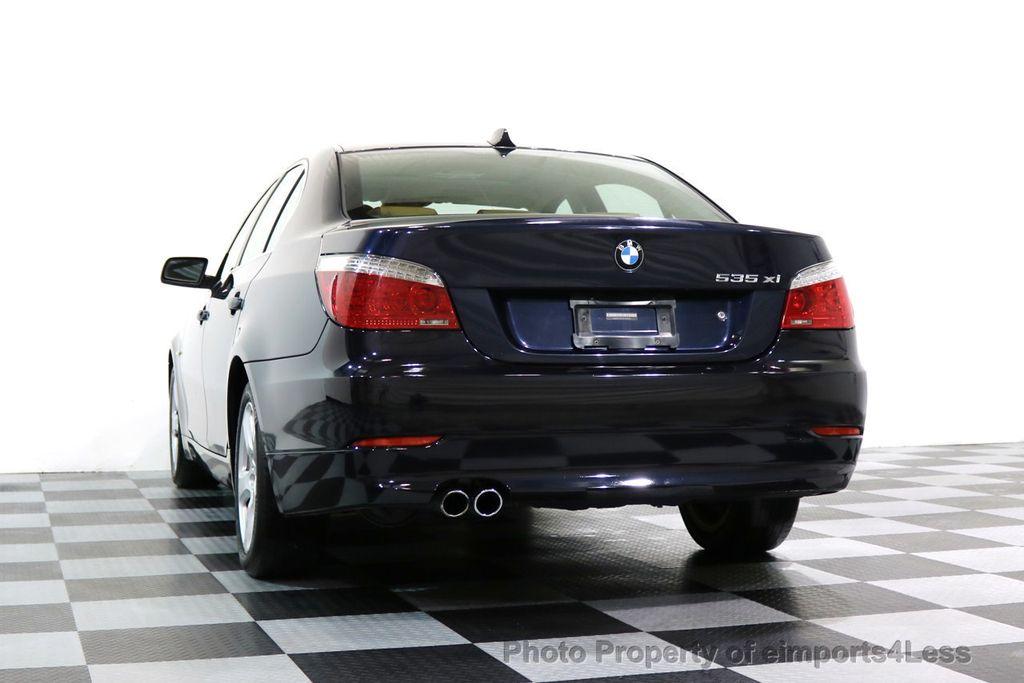 2008 BMW 5 Series CERTIFIED 535Xi AWD Active Cruise HUD NAVI - 17234274 - 13