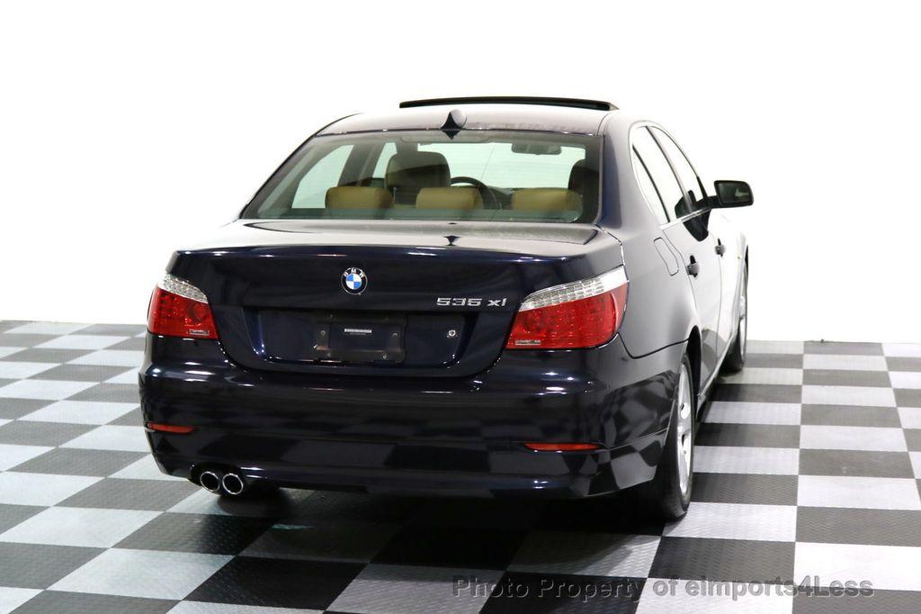 2008 BMW 5 Series CERTIFIED 535Xi AWD Active Cruise HUD NAVI - 17234274 - 15