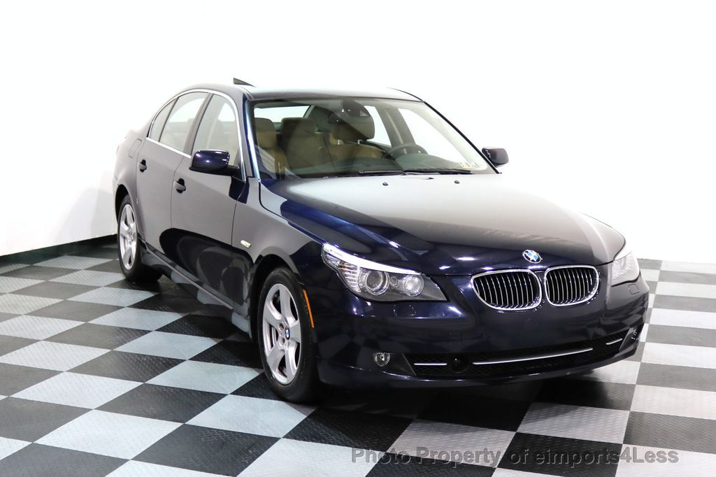 2008 BMW 5 Series CERTIFIED 535Xi AWD Active Cruise HUD NAVI - 17234274 - 1
