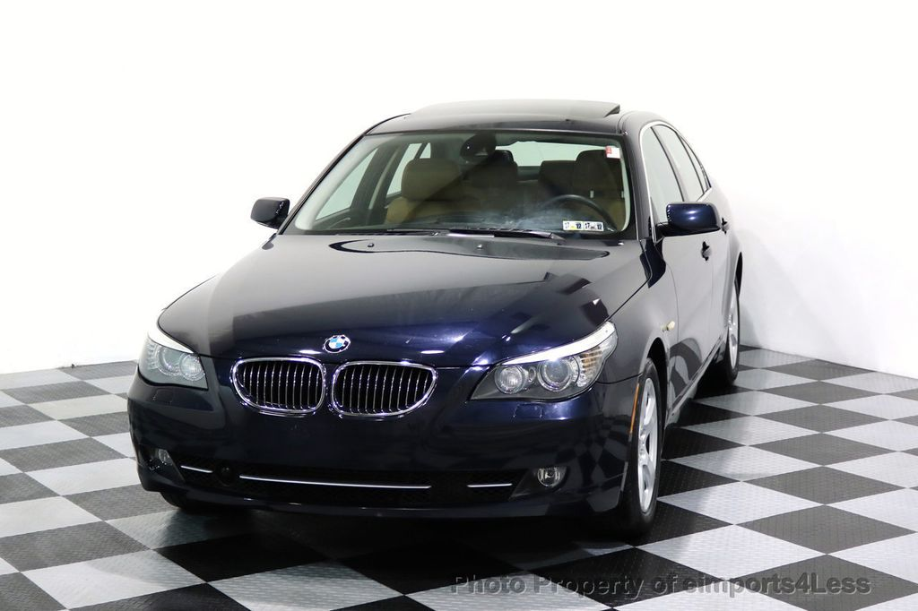 2008 BMW 5 Series CERTIFIED 535Xi AWD Active Cruise HUD NAVI - 17234274 - 27