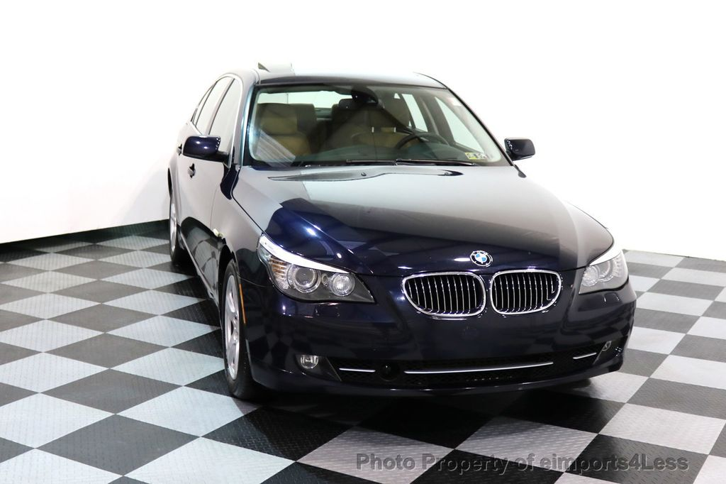 2008 BMW 5 Series CERTIFIED 535Xi AWD Active Cruise HUD NAVI - 17234274 - 28