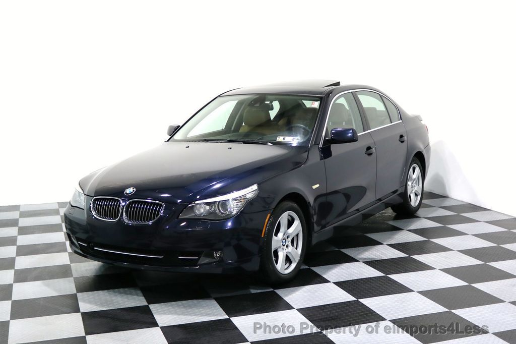 2008 BMW 5 Series CERTIFIED 535Xi AWD Active Cruise HUD NAVI - 17234274 - 39