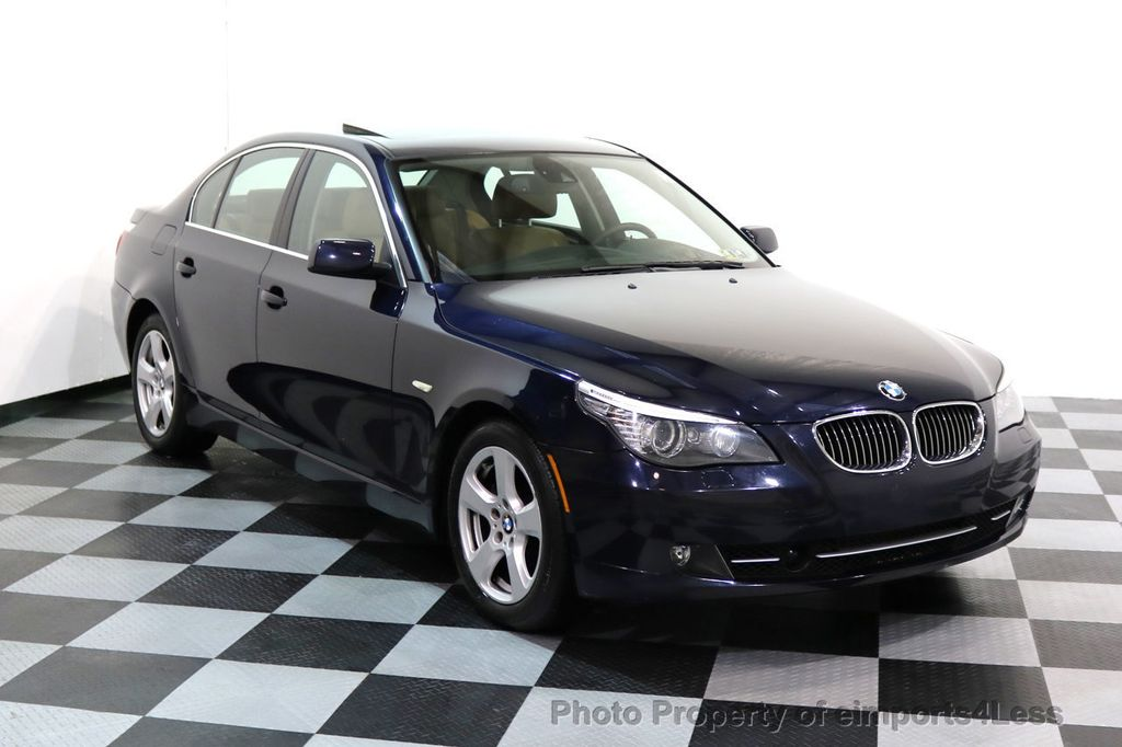 2008 BMW 5 Series CERTIFIED 535Xi AWD Active Cruise HUD NAVI - 17234274 - 40