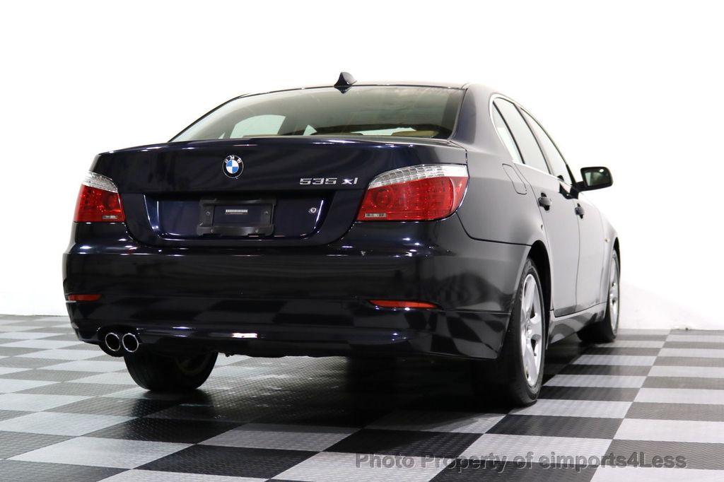 2008 BMW 5 Series CERTIFIED 535Xi AWD Active Cruise HUD NAVI - 17234274 - 42