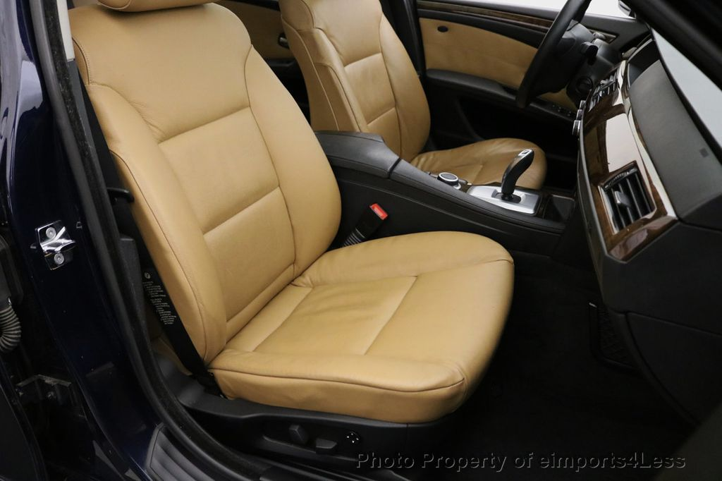 2008 BMW 5 Series CERTIFIED 535Xi AWD Active Cruise HUD NAVI - 17234274 - 44