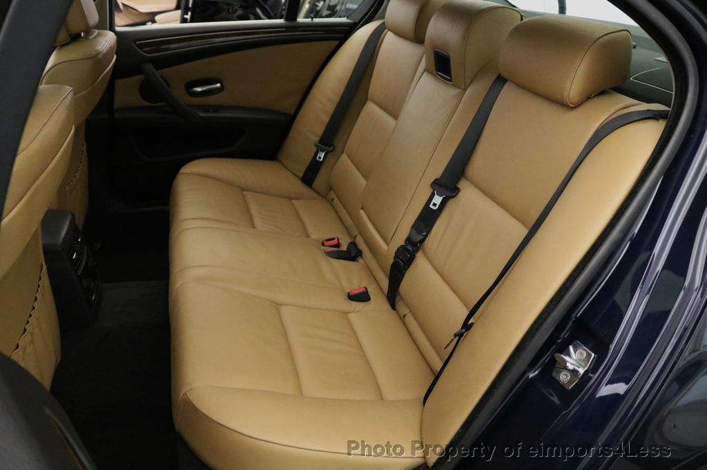 2008 BMW 5 Series CERTIFIED 535Xi AWD Active Cruise HUD NAVI - 17234274 - 46