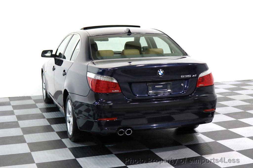 2008 BMW 5 Series CERTIFIED 535Xi AWD Active Cruise HUD NAVI - 17234274 - 48