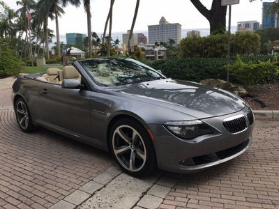 2008 BMW 6 Series 650i Convertible