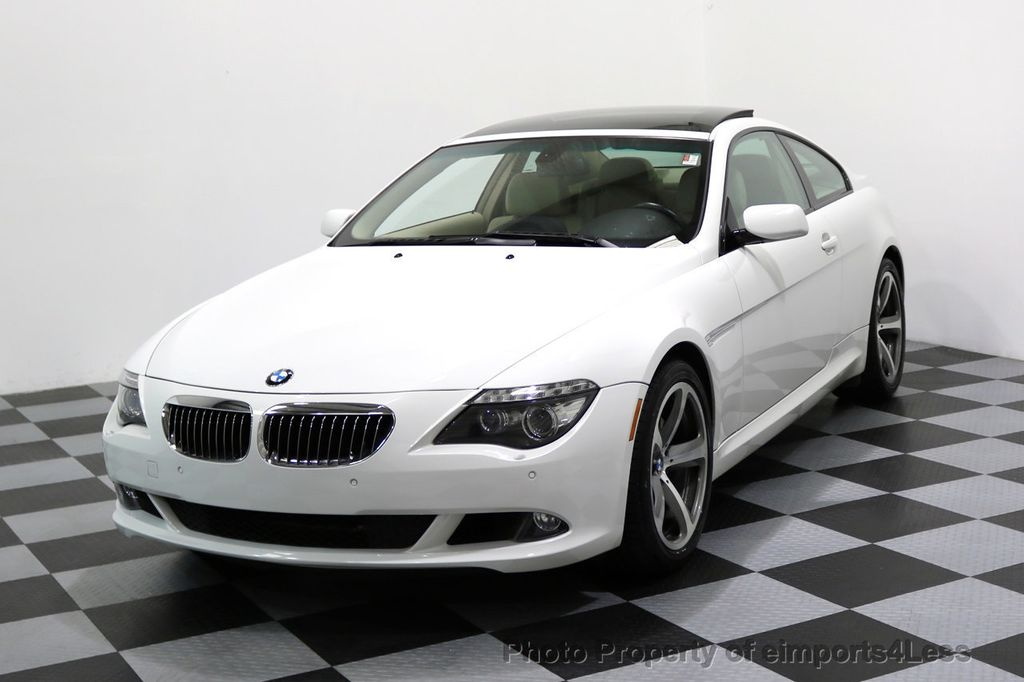 2008 BMW 6 Series CERTIFIED 650i Sport Package NAVIGATION - 17461029 - 0