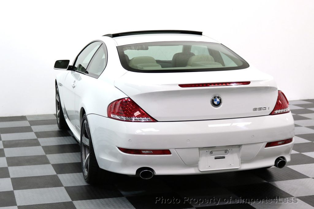 2008 BMW 6 Series CERTIFIED 650i Sport Package NAVIGATION - 17461029 - 15