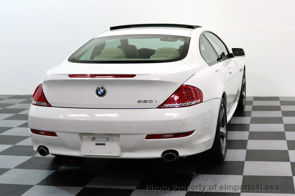 2008 BMW 6 Series CERTIFIED 650i Sport Package NAVIGATION - 17461029 - 17