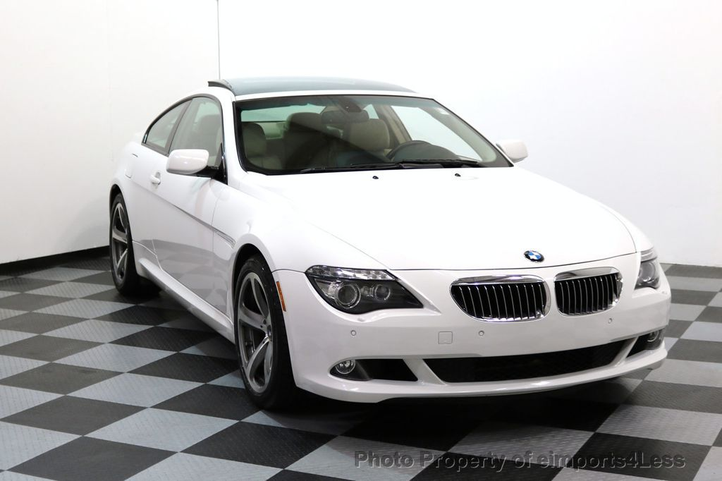 2008 BMW 6 Series CERTIFIED 650i Sport Package NAVIGATION - 17461029 - 1