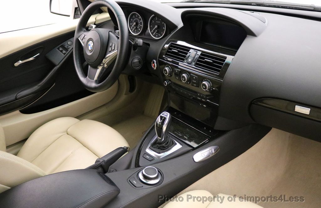 2008 BMW 6 Series CERTIFIED 650i Sport Package NAVIGATION - 17461029 - 23