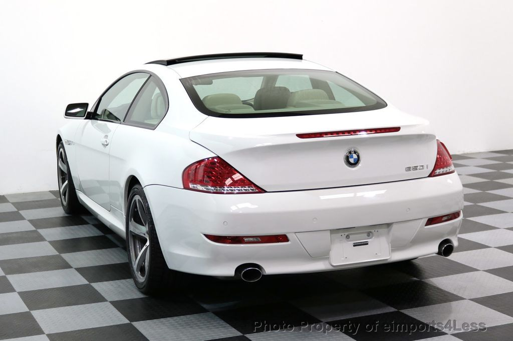 2008 BMW 6 Series CERTIFIED 650i Sport Package NAVIGATION - 17461029 - 2