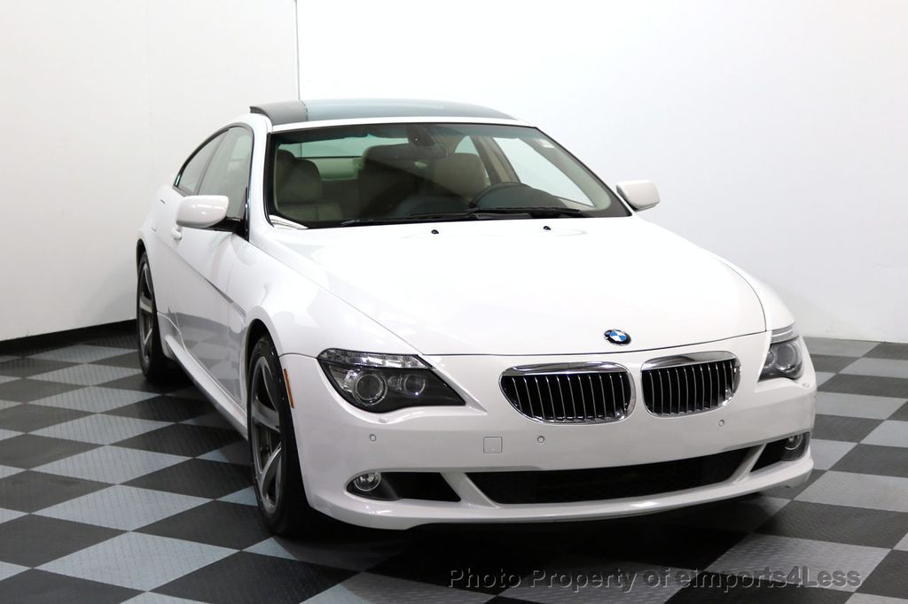 2008 BMW 6 Series CERTIFIED 650i Sport Package NAVIGATION - 17461029 - 29
