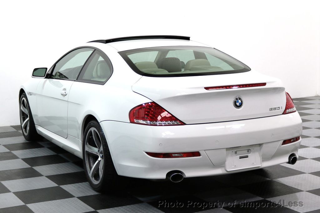 2008 BMW 6 Series CERTIFIED 650i Sport Package NAVIGATION - 17461029 - 30