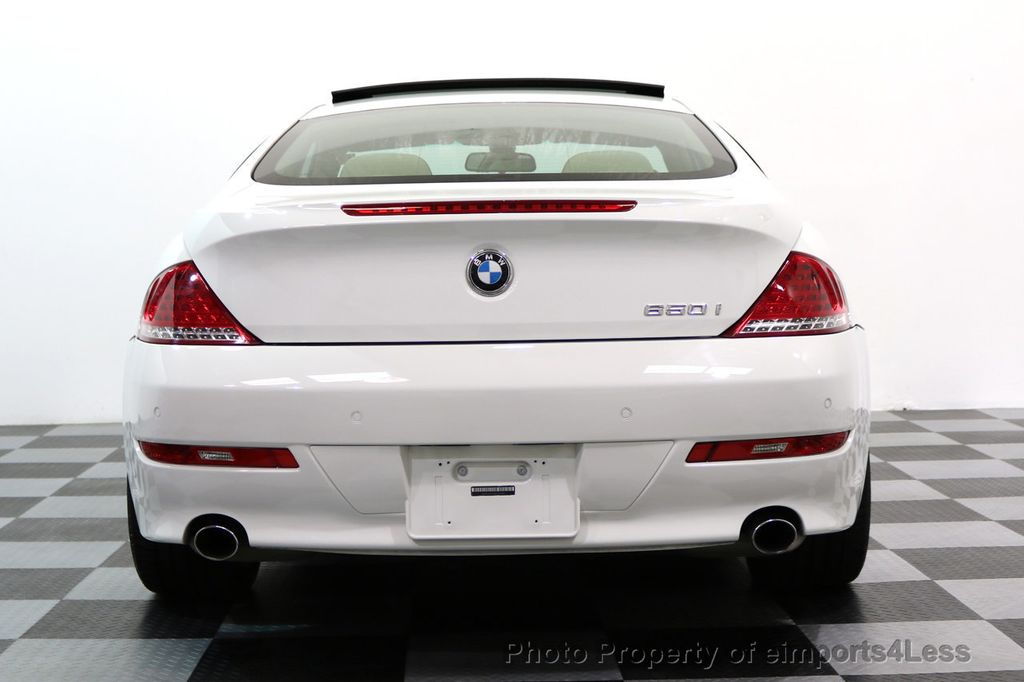 2008 BMW 6 Series CERTIFIED 650i Sport Package NAVIGATION - 17461029 - 31